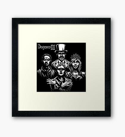 Dayman Rhapsody Framed Print