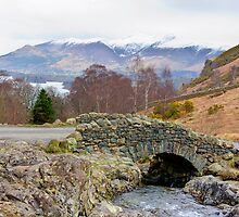 Ashness Bridge and Derwent Water HDR by Nigel Donald