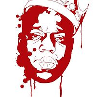 Biggie Smalls / Red by Ryan Williams