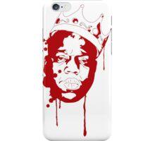 Biggie Smalls / Red iPhone Case/Skin