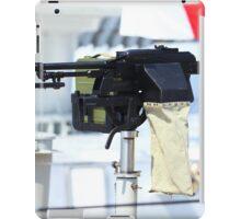kalashnikov heavy machine gun iPad Case/Skin