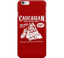 Caucasian Mixer iPhone Case/Skin
