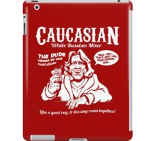 Caucasian Mixer iPad Case/Skin