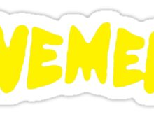 Pavement Sticker