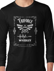 Triforce Whiskey Long Sleeve T-Shirt