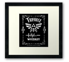 Triforce Whiskey Framed Print