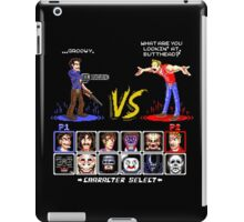 Super 80's Good Vs. Evil 2! iPad Case/Skin