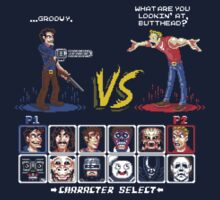 Super 80's Good Vs. Evil 2! One Piece - Long Sleeve