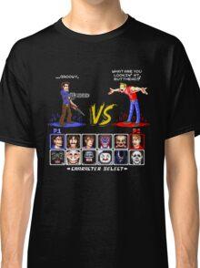 Super 80's Good Vs. Evil 2! Classic T-Shirt