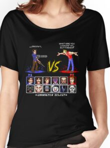Super 80's Good Vs. Evil 2! Women's Relaxed Fit T-Shirt