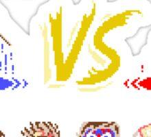 Super 80's Good Vs. Evil 2! Sticker