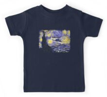 Starry Time Travel Kids Tee
