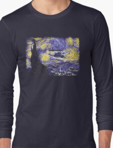 Starry Time Travel Long Sleeve T-Shirt