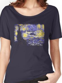 Starry Time Travel Women's Relaxed Fit T-Shirt
