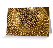 Glowing Ball Greeting Card
