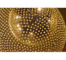 Glowing Ball Photographic Print