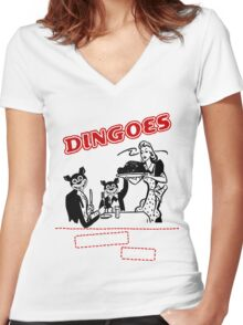 Dingoes Ate My Baby Women's Fitted V-Neck T-Shirt