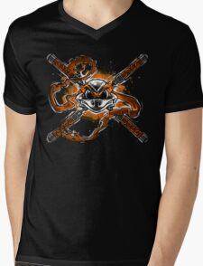 Funny Bones Mens V-Neck T-Shirt