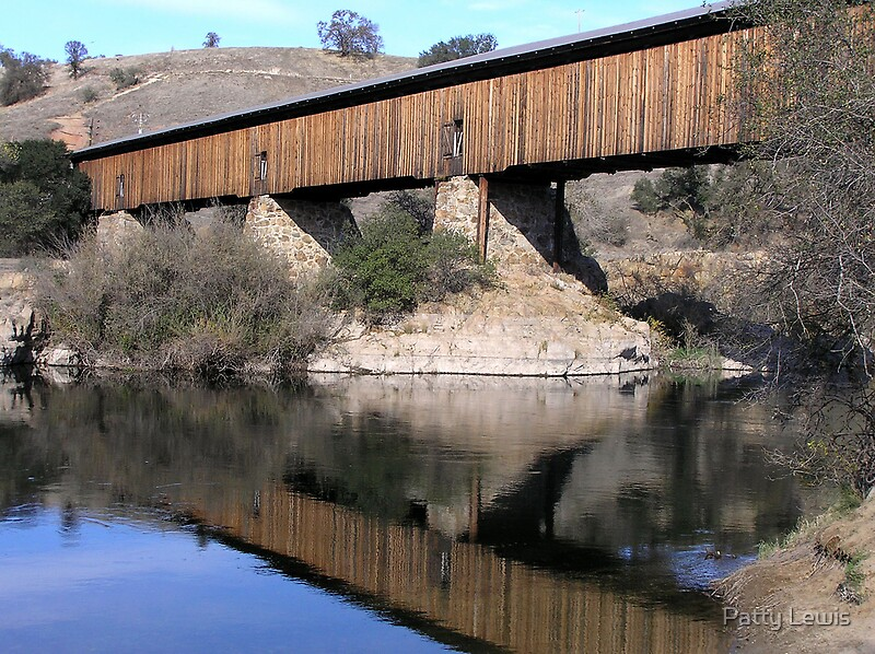 Knights Ferry Covered Bridge By Patty Boyte Redbubble