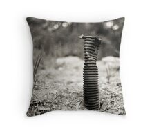 The Lone Soldier Throw Pillow