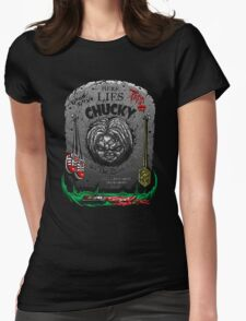 The Legacy of Chucky Womens Fitted T-Shirt