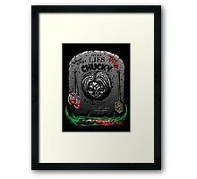 The Legacy of Chucky Framed Print