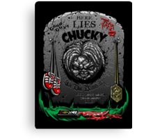 The Legacy of Chucky Canvas Print