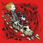 Calvydia and Beetlehobbes (Light Shirts) by Punksthetic