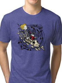 Calvydia and Beetlehobbes (Light Shirts) Tri-blend T-Shirt