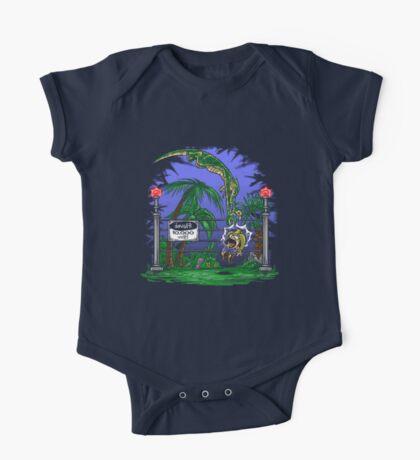 Jurassic Pounce! (Dark Shirts) Kids Clothes