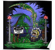 Jurassic Pounce! (Light Shirts) Poster