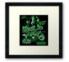 Matrix Cereal (Black Ed) Framed Print