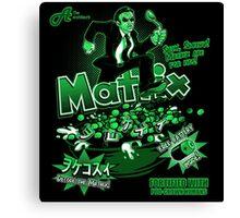 Matrix Cereal (Black Ed) Canvas Print