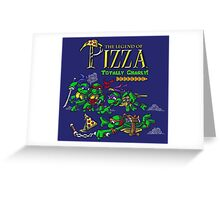 The Legend of Pizza! Greeting Card