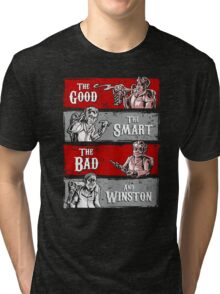 Ghost Wranglers (with Winston) Tri-blend T-Shirt