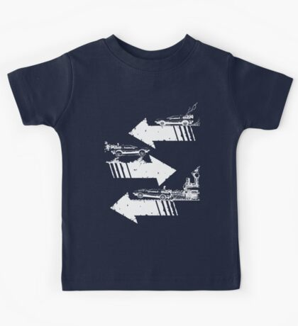Time Distorted Minimalism Kids Clothes