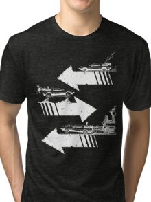 Time Distorted Minimalism Tri-blend T-Shirt