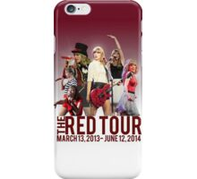 The Red Tour iPhone Case/Skin