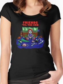 Friends 'Til The End Women's Fitted Scoop T-Shirt
