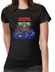 Friends 'Til The End Womens Fitted T-Shirt