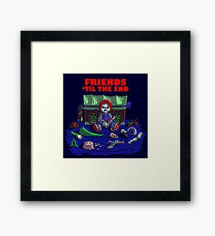 Friends 'Til The End Framed Print