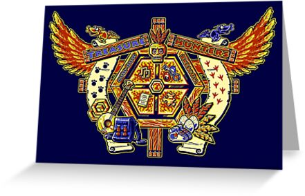 Treasure Hunters Crest by Punksthetic