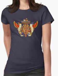 Treasure Hunters Crest Womens Fitted T-Shirt