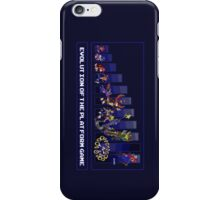Evolution of the Platform Game iPhone Case/Skin