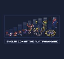 Evolution of the Platform Game Kids Tee