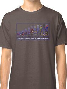 Evolution of the Platform Game Classic T-Shirt