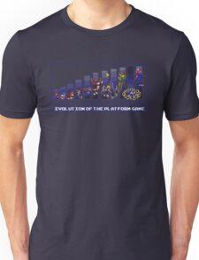 Evolution of the Platform Game Unisex T-Shirt