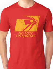 No Post On Sunday T-Shirt