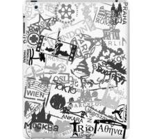 World City Travel Destination Passport Stamps iPad Case/Skin