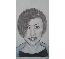 drawing of Hayley Williams Photographic Print